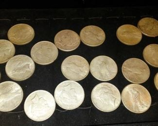 United States Peace Silver Dollar Collection
