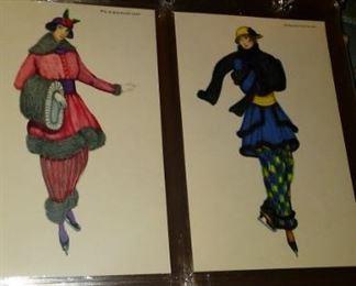 Art Deco Mela Koehler Austria Wiener Werkstatte Fashion Postcards