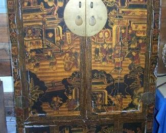 Vintage Japanese Tansu Cabinet