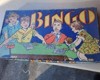 1940s Bingo game