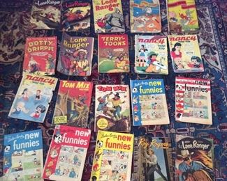 More vintage comic books. Will come with sleeves and backer boards.