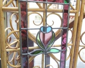 Beautiful Stained glass hanging piece