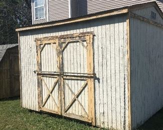 Yes, the shed is for sale size is 10x12. Get a pre owned one for a fraction of the cost
