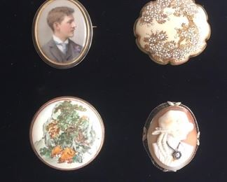 Vintage Brooches and other Jewelry