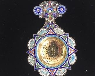 Imperial Russian Tea Strainer