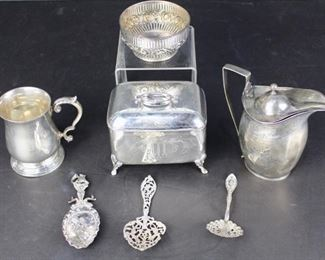 Estate Sterling and Coin Silver Group
