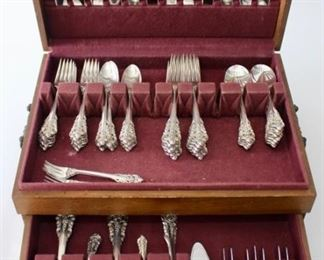 Sterling Flatware Sets, Grande Baroque