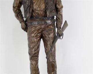 Dave Manuel, John Wayne Bronze