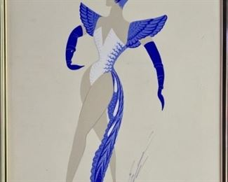 Original Gouache by Erte