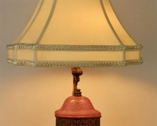 Steuben by Frederick Carder Lamp