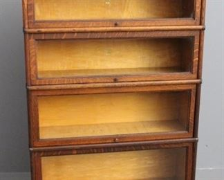 One of Four Barrister's Bookcase