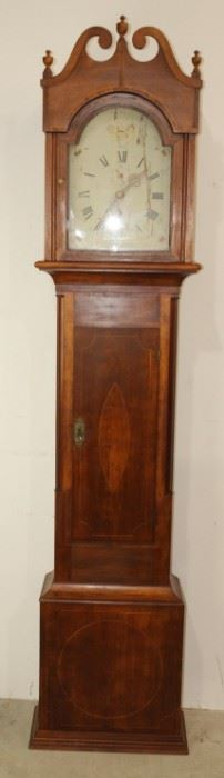 C. 1800 Tall Case Clock