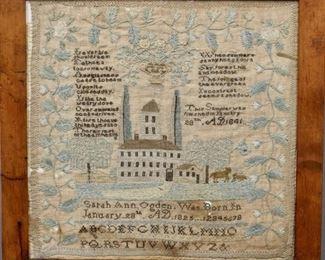 1841 American Sampler
