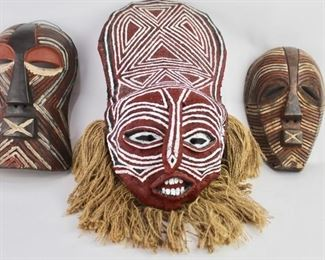 More African Tribal Masks