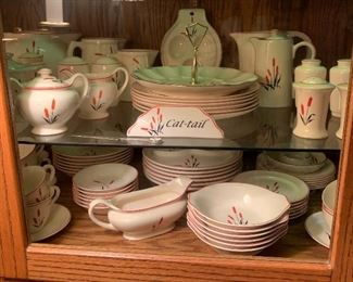 Large Collection Oven Proof Cat Tail China