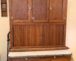 Antique Hoosier Cabinet