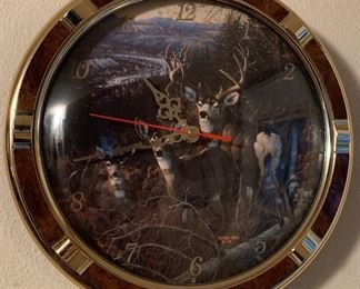 Wildlife Clock