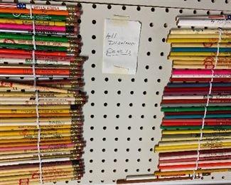 Vintage Advertising Pencils