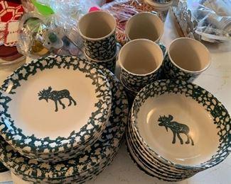Moose China Set