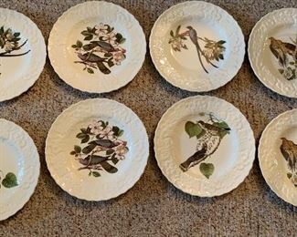 Alfred Meakin Birds of America Lunch Plates