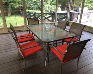 Sun room furniture