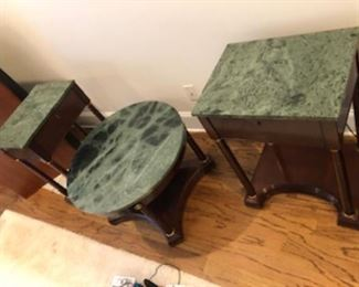 Marble top furniture