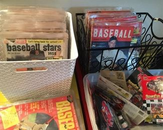 Baseball Memorabilia, Magazines , Cards and Pictures
