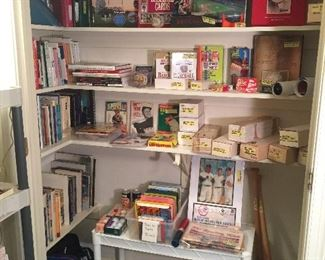 Baseball Memorabilia, Cards and Pictures