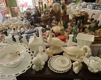 Milk Glass, and every other collectible under the Vista sun!