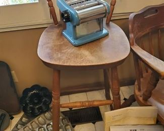 Antique Pasta Maker in Baby Blue!