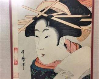 Selection of Asian art