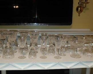 Waterford Lismore  30 pieces