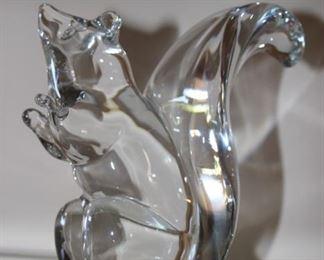 Glass squirrel.