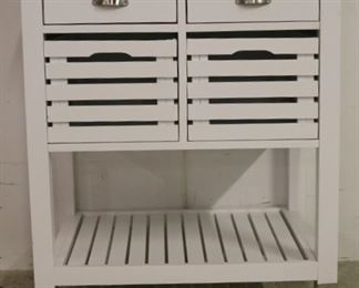 Kitchen cart w/ stainless surface