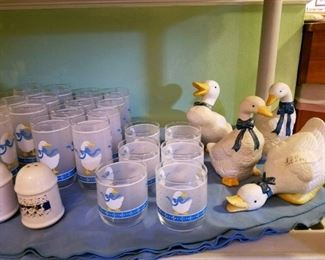 Welcome to the 1980s and 1990s check out the Vintage duck collectibles