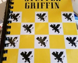 The very sought-after stuffed Griffin cook but these are out of print and have the best recipes in there for everything