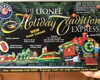 Lionel Holiday Tradition Express    https://ctbids.com/#!/description/share/235833
