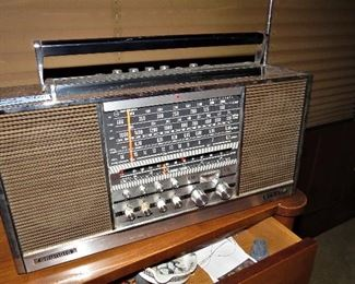 Vintage Grundig World Radio
