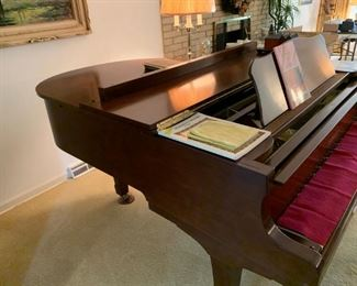 Newer Yamaha Grand Piano. Beautiful condition. Available for pre-sale. Accepting offers now! 847-772-0404.