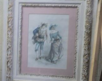 wood and gesso frame
