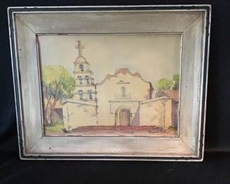 Original Watercolor by Marion Phillips No. 1