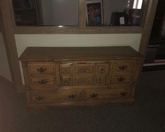 Dresser Wooden 8 drawer