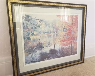 """Autumn in Wisconsin"" by Richard Thompson Print https://ctbids.com/#!/description/share/235703"