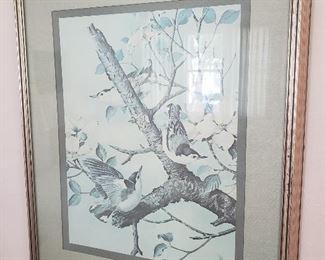 Basil Ede Bird Print https://ctbids.com/#!/description/share/235708