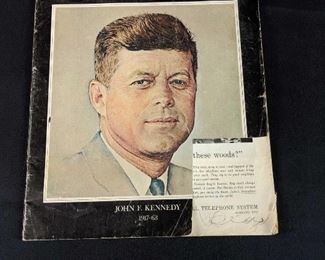 IN MEMORIAM A Senseless Tragedy - John F. Kennedy 1917-63