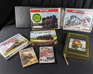 Trains, Trains and more Train Media / Collectibles