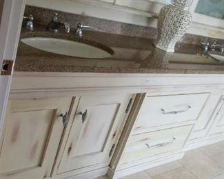 Incredible master bath vanity