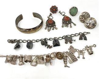 Charming Silver Bracelets https://ctbids.com/#!/description/share/235944
