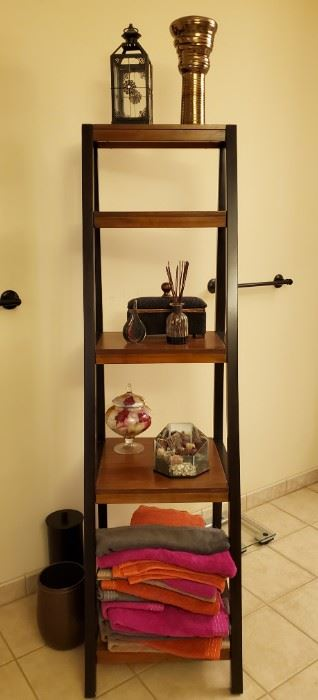 5-Tier Shelving Unit - Ladder Style