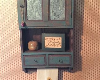 tin punch wall cabinet